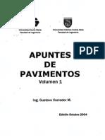 Apuntes de Diseño de Pavimentos - Gustavo Corredor