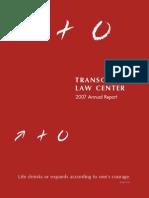 TLC 2007 Annual Report (Web Version)
