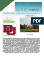 Student Life Quarterly