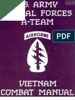 US Sp Forces a Team Vietnam Combat Manual