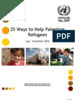 25 Ways to Help Palestine