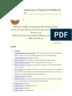 Cartilha de Orientação para a Criação de Conselhos de Direitos do Idoso-RN-2007