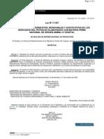 Ley 17567 Combustibles Alternativos