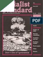 Socialist Standard 1987 991 Mar