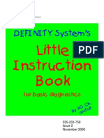 DEFINITY System's Little Instruction Book for basic diagnostic