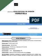 Presentación Encuesta Nacional MAYO de 2012 (presentación periodistas)