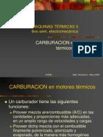 CARBURACION