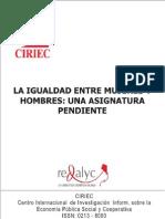 La Igualdad Entre Mujeres y Hombres Una Asignatura Pendiente 1 to 28