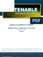 Nessus Compliance Checks