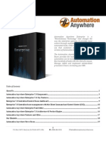 Automation Anywhere Enterprise Product Description