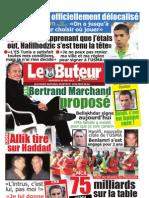 LE BUTEUR PDF du 30/05/2012