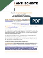 Stage de désobéissance civile - 03 et 04 mars 2012 à Nîmes