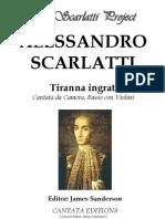 A Scarlatti - Tiranna Ingrata