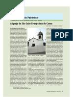 A igreja de São João Evangelista de Covas