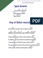 Cancionero Marianista San Sebastian PASCUA