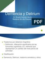 Demecia y Delirium