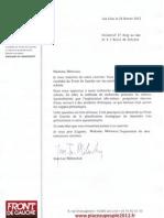 Réponse de Jean-Luc MELENCHON