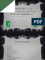 Proexport y La Financiacion de Las Nuevas Empresas