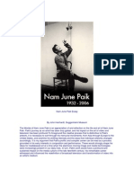 Nam June Paik Essay
