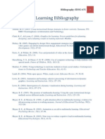 Multimedia Learning Bibliography