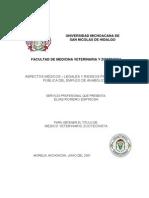 Aspectos Medicos - Legales y Riesgos Para La Salud Publica de Empleo de Anabolicos
