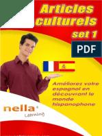 Articles culturels pour apprendre l'espagnol - set 1
