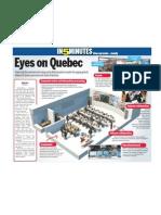 Eyes on Quebec