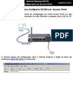 Configuracao Access Point Di524