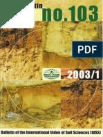 IUSS Bulletin 103