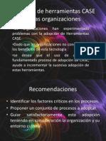Adopción de herramientas CASE en las organizaciones