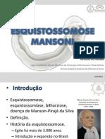 ESQUISTOSSOMOSE MANSONI - LANDIP