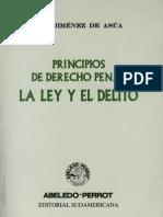 Jimenez de Asua, Luis - La Ley y El Delito