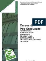 Normas Pos-graduacao Esuda