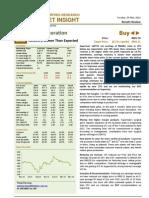 BIMBSec - Supermax 1QFY12 Results Review - 20120529