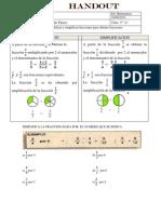 Amplificar y Simplificar Fracciones