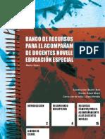 Banco de Recursos Para El to en Educacion Especial