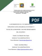 INVERSIÓN I+D+i AUTORES