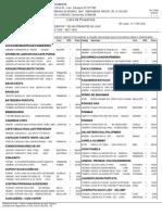 Lista Presentes FC
