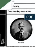 Dewey Democracia y Educacion1