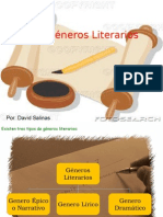 Los Gc3a9neros Literarios