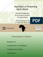246WB -Managing Risks in Financing Agriculture - Renate Kloeppinger-Todd