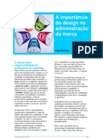 A inportancia do design na adminsitração marca