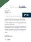 Business Letter