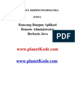 Download Skripsi Informatika Rancang Bangun Aplikasi Remote Administrator Berbasis Java by Skripsi Ti SN95235564 doc pdf