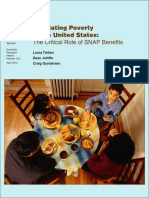 Alleviating Poverty in the United States