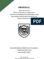 Proposal Alat TIK Simo 2013