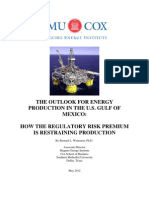 SMU report on regulatory risk premium for offshore drilling