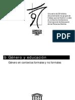 Educacion y Genero UNESCO