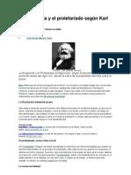 La burguesía y el proletariado según Karl Marx