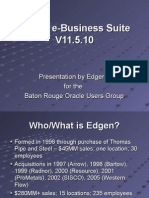 Oracle E-business Suite 11.5.10